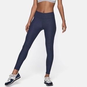 OUTDOOR VOICES Warmup Legging | L heathered blue